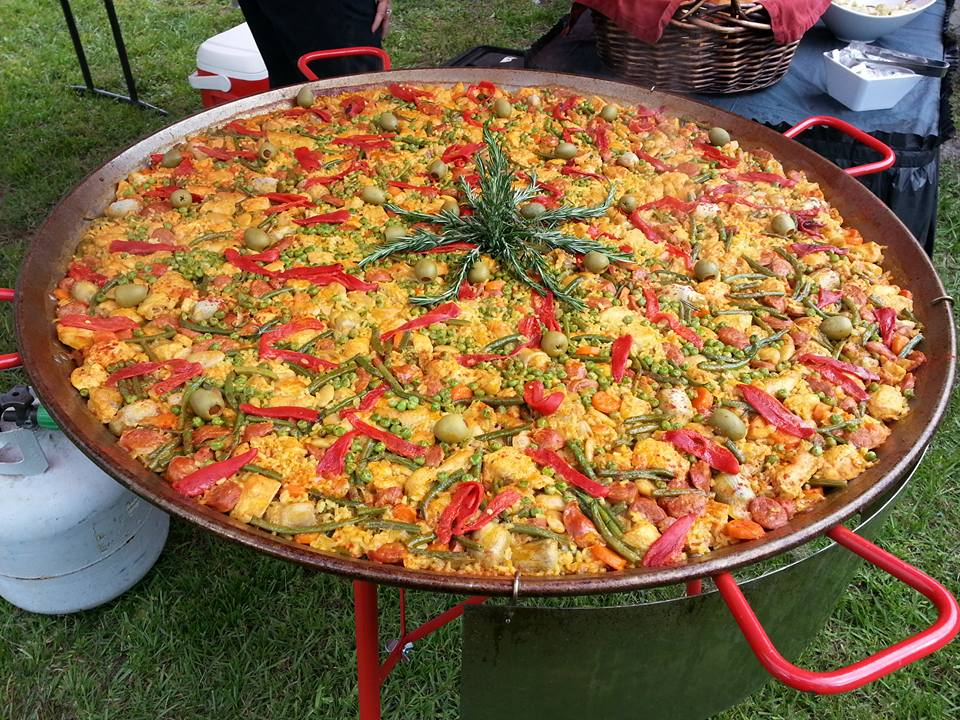 Paella Vegetal in Florida