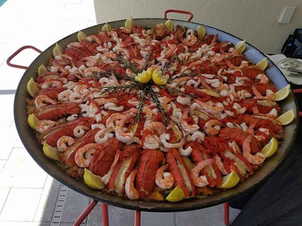 Paella Mixta in Florida